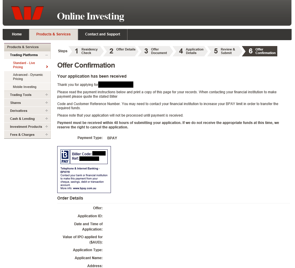 how to buy shares westpac