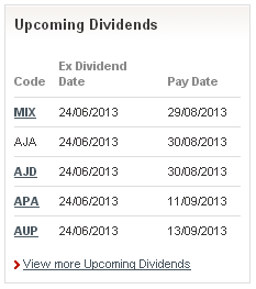 Upcoming_Dividends