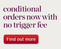 conditional orders with no trigger fees