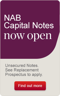 NAB Capital Notes Now Open
